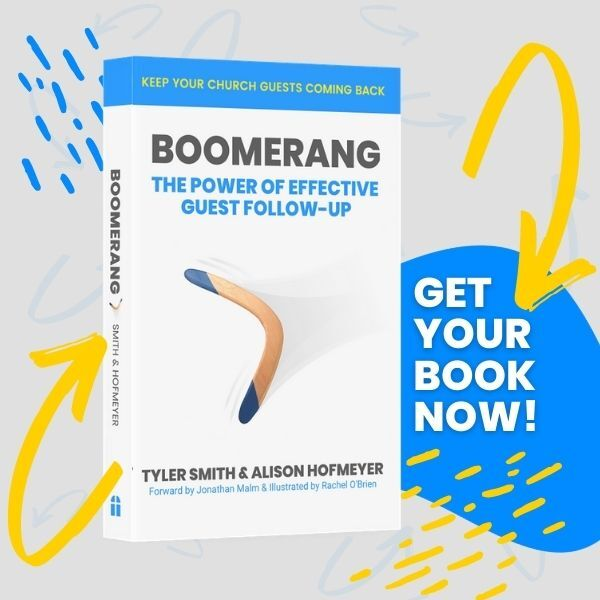 Boomerang Book Church Follow Up First Impressions Strategy