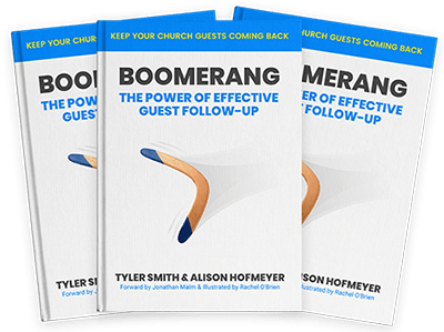 Church Follow Up System Boomerang Book